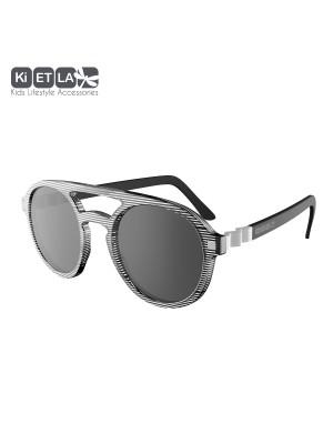 KiETLA - Sunglasses 6-9 age CraZyg-Zag SUN PiZZ Stripe