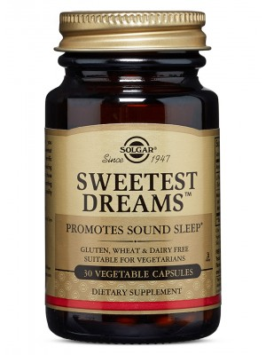 Solgar - Sweetest Dreams, 30 Vegetable Capsules