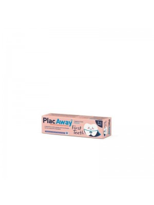 Omega Pharma - Plac Away First Teeth Toothpaste Vanilla Children 2-6 Years, 50ml